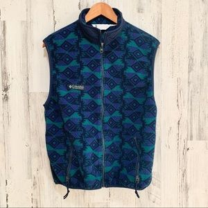 Vintage Columbia Aztec Vest